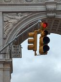 Washington Square Stop Light