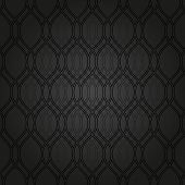 Geometric Abstract Seamless Vector Dark Pattern