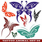 templates butterfly for tattoo