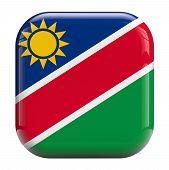 Namibia Flag Icon Image