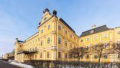 stock photo of sankt-peterburg  - panorama of the Menshikov Palace in Sankt - JPG