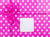Birthday Gift Wrap Background