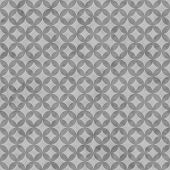 Gray Interconnected Circles Tiles Pattern Repeat Background