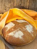 freshly baked homemade bread