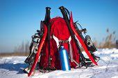 Camping gear.
