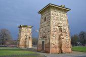 Egyptian Gate In Pushkin (tsarskoye Selo).
