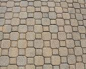 Brick pattern pavement