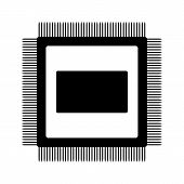 Microchip Icon.