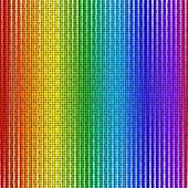 Rainbow Of Colorful Boxes. Colorful Abstract Background