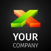 Abstract logo X