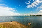 Taughthaman lake ,Mandalay, Myanmar