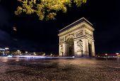 Arc De Triomphe by Night