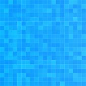 Squared Blue Seamless Pattern