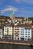 Historic Building In Zurich, Switzerland