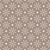 abstract seamless ornament pattern vector illustration