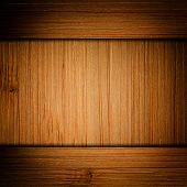 texture of a piece of timber bamboo, closeup