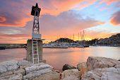 foto of piraeus  - Pier in Mikrolimano marina in Athens - JPG