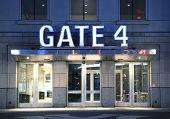 Gate Entrance To Yankee Stadium