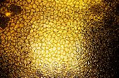 Gold soft glass for texture or background