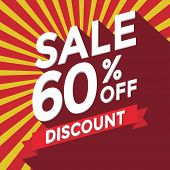 Sale 60% off discount