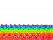 Rainbow Jelly Pops