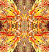 Bright Abstract Floral Pattern For Decoration
