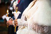 Wedding Ceremony In Orthodox Church.