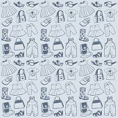 Seamless pattern clothes