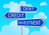 The index against the blue sky investment, credit, debt