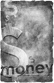 Business background. dollar symbol