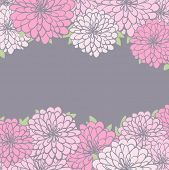 vintage floral background. eps8