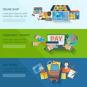 Shopping E-commerce Banners