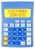 Calculator With Customer Service