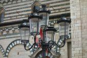 Street Lamp In Prato, Italy