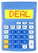 Calculator With Deal
