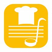 Cooking Chef icon yellow