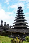 stock photo of hindu  - Besakih temple one of Hindu temple in Bali Indonesia - JPG