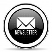 picture of newsletter  - newsletter icon - JPG