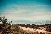 pic of asheville  - beautiful view of the mountains in Austria - JPG
