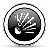 foto of bomb  - bomb icon - JPG
