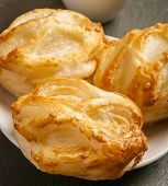 picture of bread rolls  - Bread Roll with cottage cheese filling and coffe - JPG