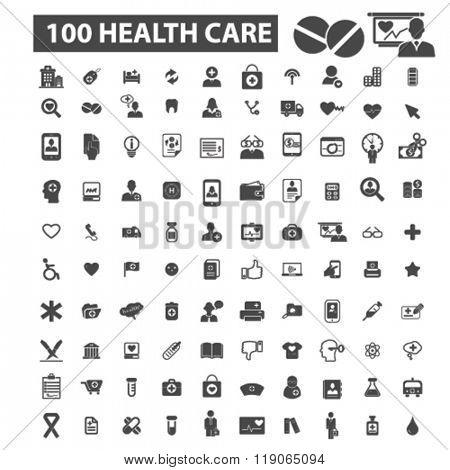 health icons, health logo, health care icons vector, health care flat illustration concept, health c