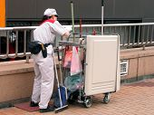 Cleaning Worker