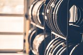 Car Tires Rack poster
