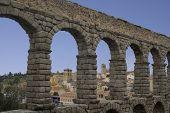 Aquaduct At Segovia