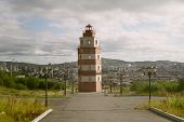 Lighthouse In Murmansk