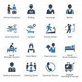 ������, ������: Tourism & Travel Icons Blue Series