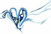 Coração abstrata