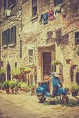 ������, ������: Scooter In Tuscany