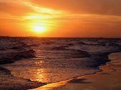 Sonnenuntergang über Sanibel Island